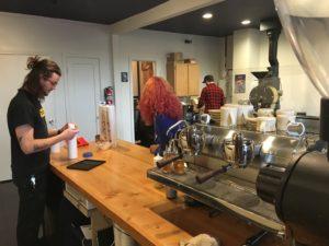 Behind the bar Manifesto Coffee
